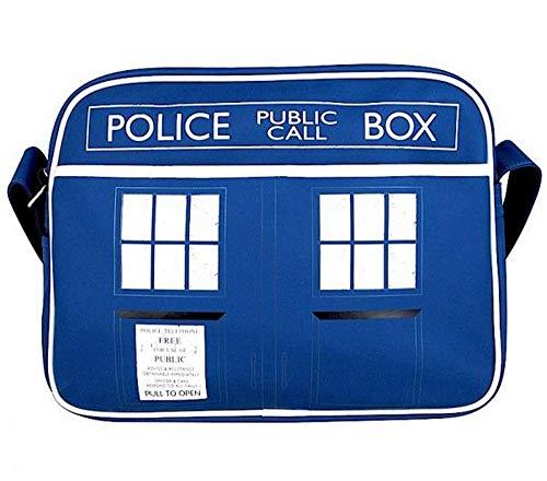 DOCTOR WHO - Messenger Tasche - Schultertasche - Tardis - Police Box