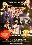 Halloween Horror Fest - Bottrop 2010 Konzert-Poster A1