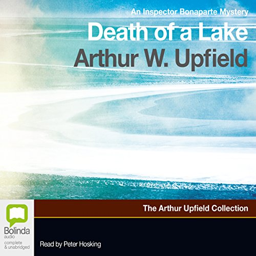 Death of a Lake audiobook cover art