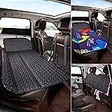 ABE Non-Inflatable Car Mattress,Double-Sided Folding Car Bed Mattress SUV,Portable SUV Mattress, Car Camping Mattress Back Seat,Car Travel Camping Mattress for Sleeping(Dinosaur World)