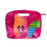 Kit Curlformers - 40 bigoudis/2 crochets - boucles serrées - cheveux très longs 22'/55 cm max - sans chaleur