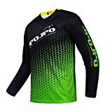 2021 Men's Cycling Jersey Summer Bicycle Downhill Sportswear MTB Jersey Great Gifts Long Sleeve Mountain Bike Clothes