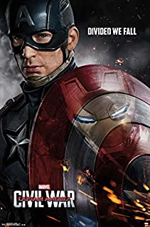 Trends International Captain America 3 One Sheet Wall Poster 22.375