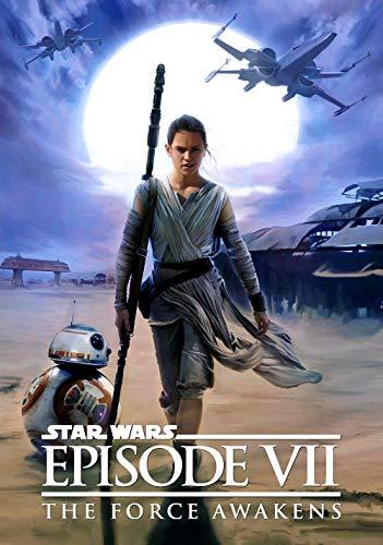 Adultos Puzzle de 1000 Piezas  Carteles de películas de Star Wars: El despertar de la fuerza Juguete Educativo Intelectual de descompresión Divertido Juego Familiar para niños Adultos