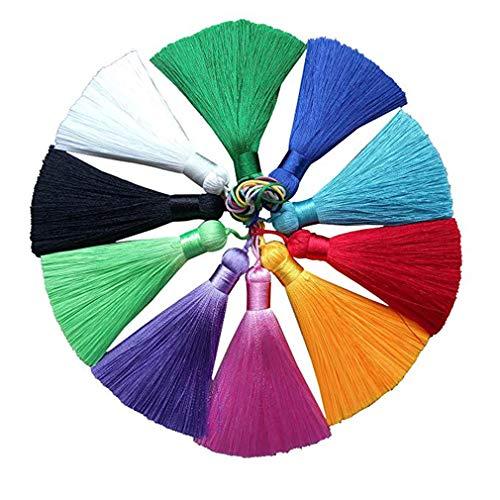 Hisredsun Borlas seda hechas mano hechas mano decoración