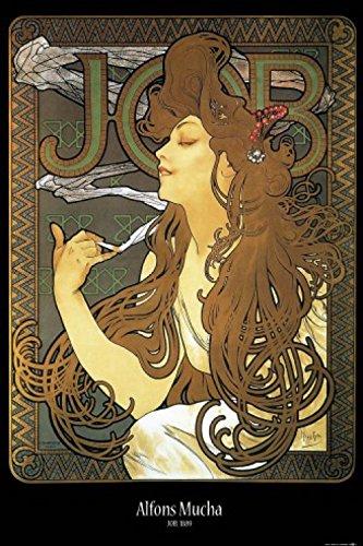 1art1 Alphonse Mucha Poster - Job, 1896 (91 x 61 cm)