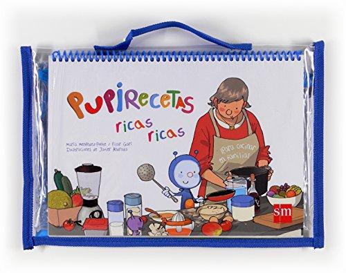 Pack libro de recetas de Pupi con delantal de regalo