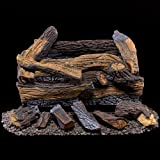 Duluth Forge Ventless Propane Gas Log Set-18 in, 18 Inch, Manual...