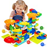 Victostar Marble Run Building Blocks Construction Toys Set Puzzle Race...