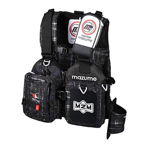 マズメ(MAZUME) レッドムーンライフジャケット ロックショアスペシャルII MZLJ-443-01 ブラックカスリ