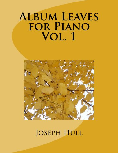 Album Leaves for Piano (English Edition)