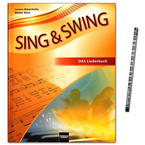 Sing & Swing - DAS neue Liederbuch (Hardcover) - Rund 300 Lieder und Songs – Bekanntes und Neues in großer stilistischer Vielfalt - Helbling Verlag 9783862271641