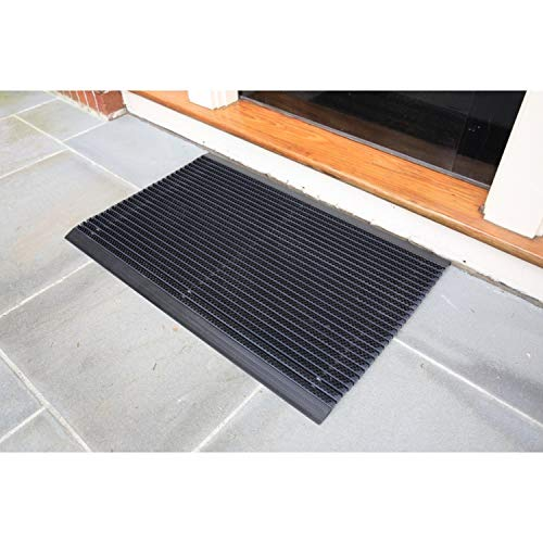 Mats Inc. World's Best Outdoor Mats, 1.5' x 2.5', Black
