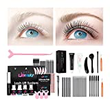 Libeauty Lash Lift And Tint Kit DIY Eyelash Lift and Dye Kit 2 in 1 Eyelash Perm At Home Lift Your Lash Curl And Black For 6 Weeks