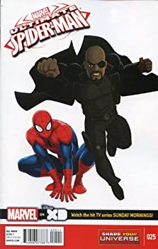 Unknown Binding Marvel Universe Ultimate Spider-Man #25 Book