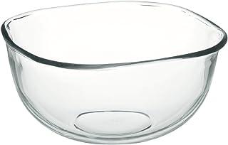 iwaki(イワキ) 耐熱ガラス ボウル 角型 外径23×23cm 3.3L KBC337