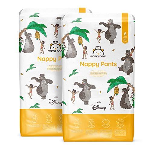 Mama Bear - Disney - 120 pañales braguita - Talla 6 (15+ kg)