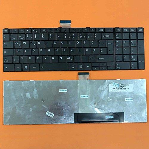 kompatibel für ToSHIBA Satellite C70-B Tastatur - Farbe: schwarz - ohne Beleuchtung - Deutsches Tastaturlayout - Version 1