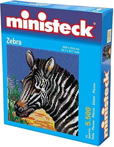 Ministeck - Zebra, Steckplatten, ca. 5500, Steine und Zubehör