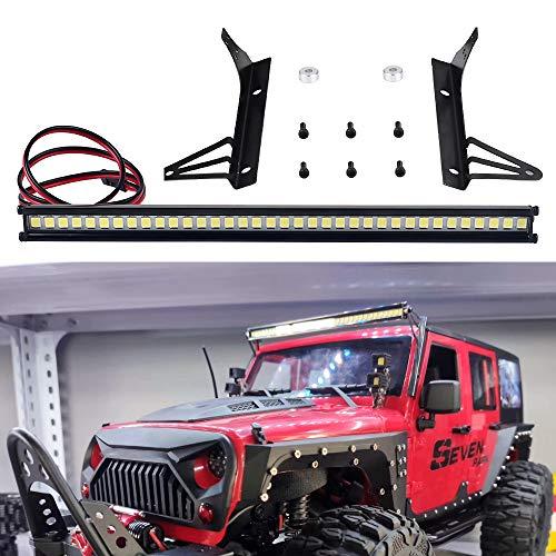 INJORA RC LED Lichtleiste 36er LEDs Beleuchtung Set für 1:10 RC Rock Crawler Axial SCX10 90046 Jeep Wrangler