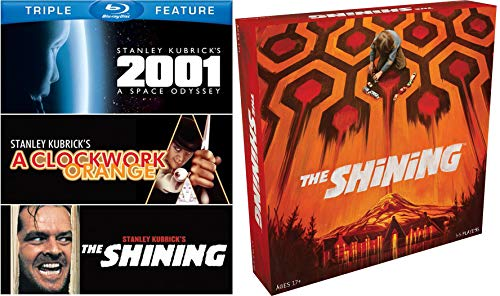 All Work No Play The Shining Movie Stanley Kubrick & Jack Nicholson Torrence + Creepy Board Survival Game / Space Odyssey 2001 & Clockwork Orange