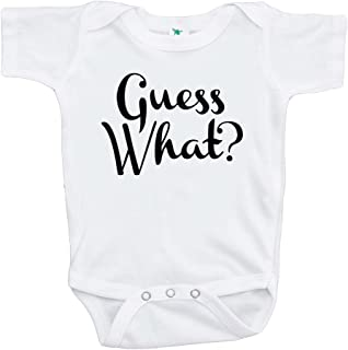 7 ate 9 Apparel Guess What? Pregnancy Announcement Onepiece 0-3 Months
