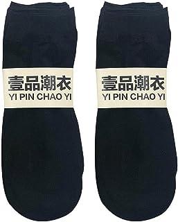10 Paia di Calze Corte per Donna Calze Elastiche Ultra-Sottili Trasparenti alla Caviglia di Seta Calze Trasparenti alla Ca...