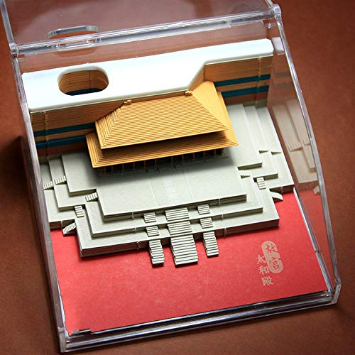 Tiantan Prayer Year Calendar Chinese Style Forbidden City Gift Object 3D Threedimensional Model Note Paper Creative Postit Note
