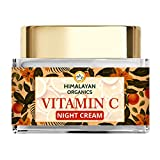 Himalayan Organics Vitamin C Night Cream with Hyaluronic Acid | Anti Pigmentation & Skin Brightening...