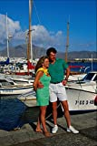 702013 Couple Sightseeing By Harbor Playa Blanca Lanzarote