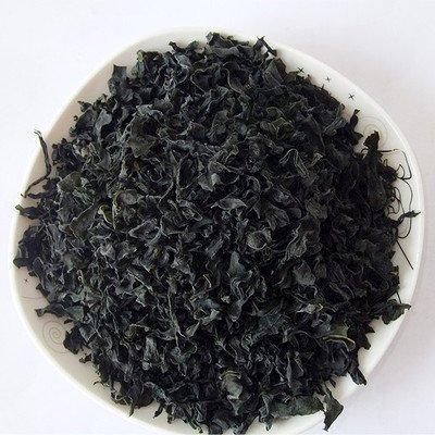 Dried Seaweed Wakame Cut,Sea Cabbage,Sea Mustard,Alga marina seca Wakame Cut, col del...
