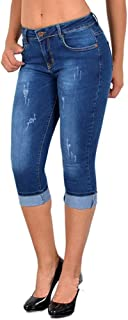 Ulanda Fashion Womens Skinny Jeans Denim Mid Waist Stretch Butterfly Embroidered Elegant Pants Trousers
