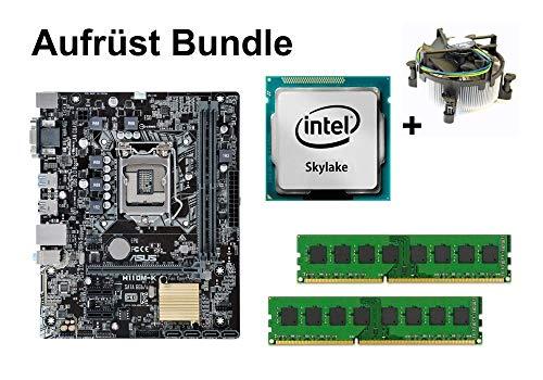 Aufrüst Bundle - ASUS H110M-K + Intel Core i3-6100 + 8GB RAM #90859