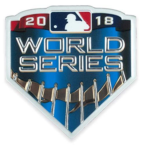 2018 MLB Major League Baseball World Series EmbossTech Collectors Patch