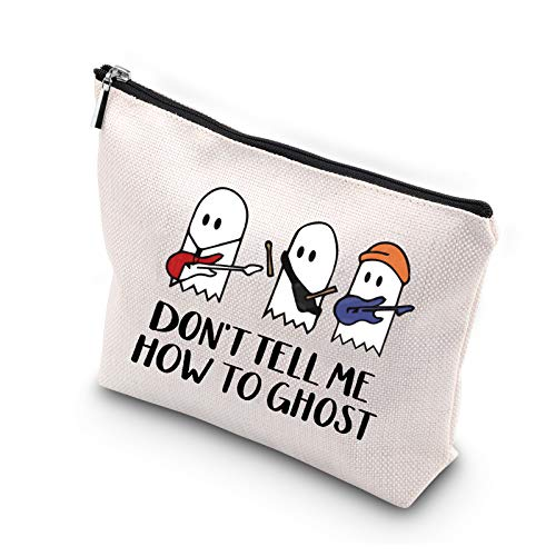 Generic, WCGXKO TV Show Inspired Cosmetic Bags Don't Tell Me How To Ghost Band Makeup Bag
