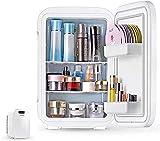 Belleza Mini nevera/refrigerador cosmético portátil y calentador con rodillo de jade utilizado para maquillaje y cuidado de la piel también se puede utilizar en el dormitorio