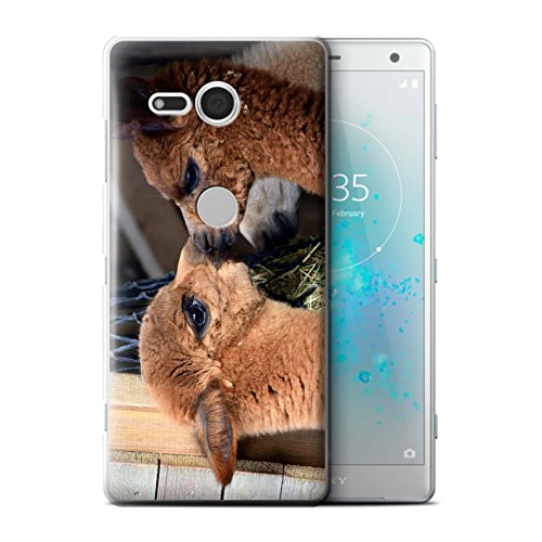 Stuff4® Phone Case/Cover/Skin / SXPXZ2C / South America Alpaca Collection Schattig paar/kus