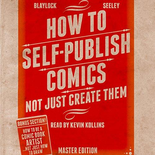 How to Self-Publish Comics audiobook cover art