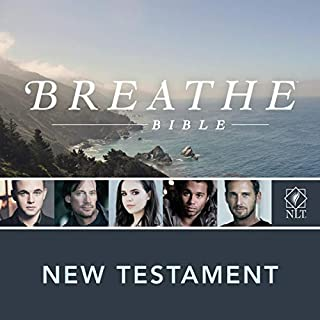 Breathe Bible New Testament NLT audiobook cover art