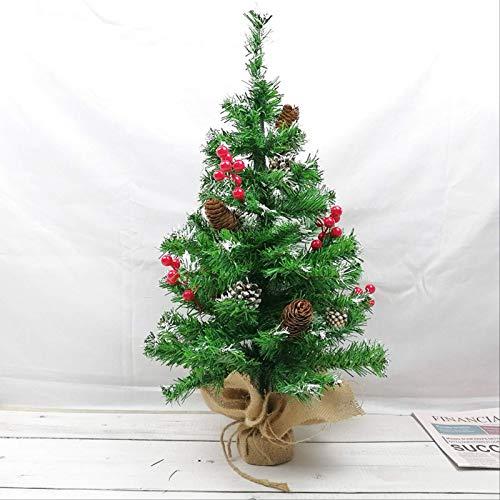 HTHJA Mini Árbol De Navidad, Pequeño Árbol De Navidad De Mesa, Mini...