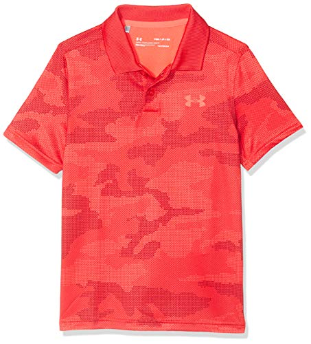Under Armour Jungen Poloshirt Performance Polo 2.0 Novelty, Rot, YLG, 1342084-646