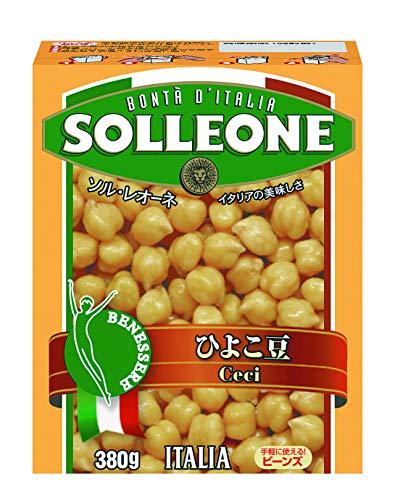 日欧商事 ソル・レオーネ ひよこ豆 380g