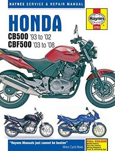 Honda CB500 & CBF500 (93 - 08)