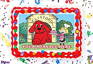 Best clifford the big red dog cake topper Reviews
