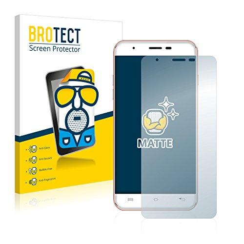 BROTECT 2X Entspiegelungs-Schutzfolie kompatibel mit Oukitel U7 Plus Bildschirmschutz-Folie Matt, Anti-Reflex, Anti-Fingerprint