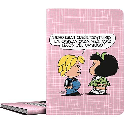 Mafalda 1332412. Carpeta de 30 Fundas Transparentes, Tamaño A4, Cubiertas Polipropileno, Modelo Belly Button ✅