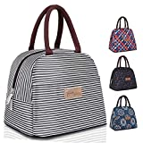 Insulated Lunch Bag for Women Men Kids Leakproof Cooler Bag Reusable Tote Bag Lunchbox Container for Work/School/Picnic, Large