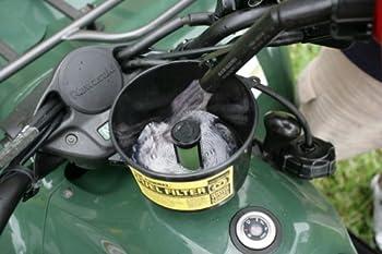 Mr. Funnel AF1C Entonnoir à carburant avec filtre et séparateur d'eau