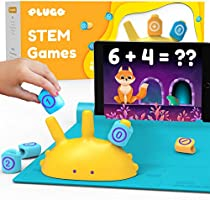 Shifu Plugo Count - Math Game with Stories & Puzzles - Ages 5-10 - STEM Toy | Augmented Reality Based Cool Math Games...