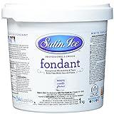 Satin Ice Rollfondant Vanille-Geschmack, weiß , 1er Pack (1 x 1 kg)